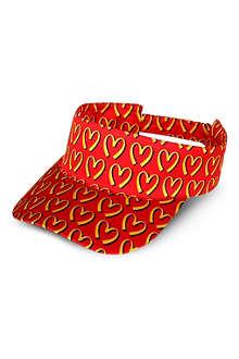MOSCHINO M print visor