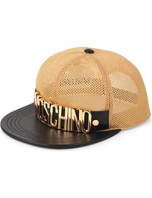 MOSCHINO Mesh logo baseball cap