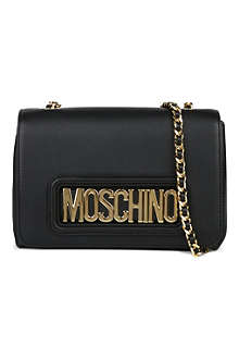 MOSCHINO Letter chain mini cross body bag