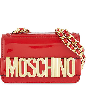MOSCHINO Patent leather bag