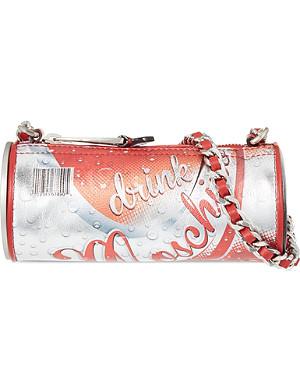 MOSCHINO Drink Moschino cylinder bag
