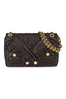 MOSCHINO Jacket shoulder bag