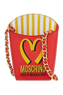 MOSCHINO Fries shoulder bag