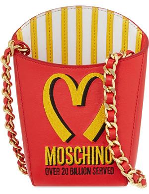 MOSCHINO Fries shoulder bag