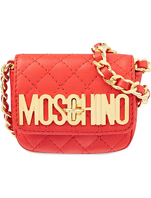 MOSCHINO Mini logo cross-body bag