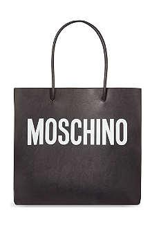 MOSCHINO Logo shopping bag