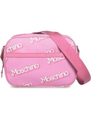 MOSCHINO Logo-detail shoulder bag