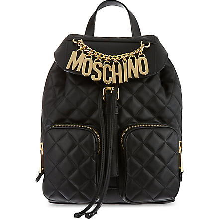 MOSCHINO Charms backpack (Black