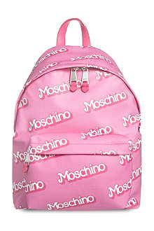 MOSCHINO Logo-detail backpack