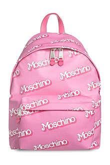 MOSCHINO Logo-detail backpack