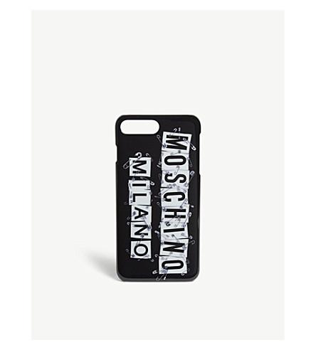 MOSCHINO Rat-a-porter iPhone case (Black
