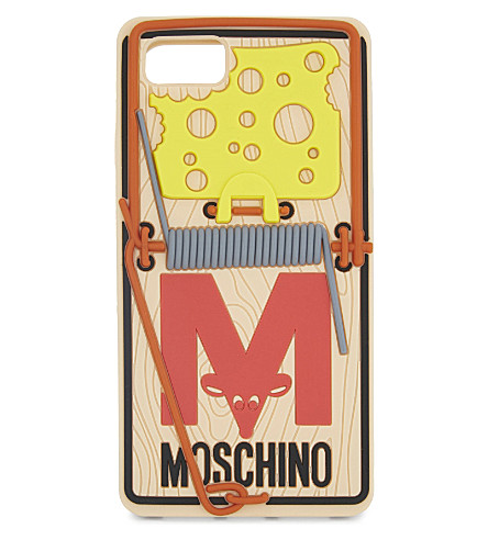 MOSCHINO Mouse trap iPhone 7 case (Multi
