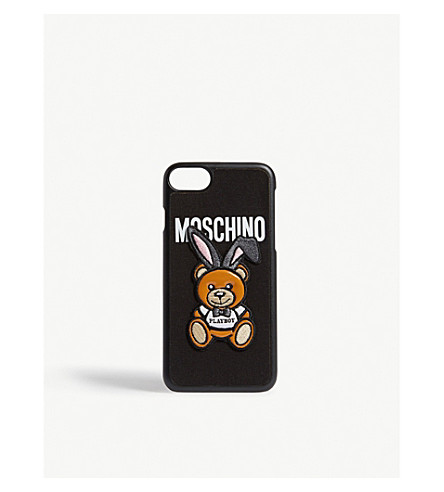 MOSCHINO Playboy teddy iPhone 7 case (Black