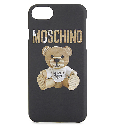 MOSCHINO Teddy bear iPhone 7 case (Black