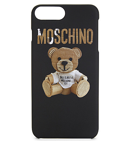 MOSCHINO Teddy bear iPhone 7 plus case (Black