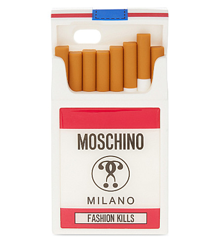 MOSCHINO Cigarette packet iPhone 6 case (Multicolor