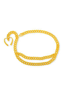 MOSCHINO Golden-arches chain belt