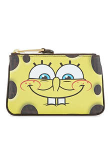 MOSCHINO Spongebob Grin pouch