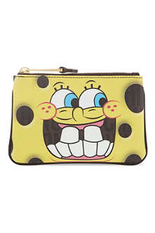 MOSCHINO Spongebob teeth pouch