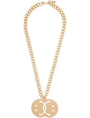 MOSCHINO Smile necklace
