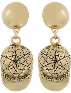 MOSCHINO Cap earrings