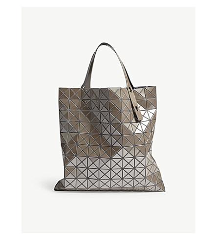 BAO BAO ISSEY MIYAKE Prism Metallic tote bag (Beige
