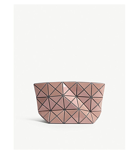 BAO BAO ISSEY MIYAKE Prism metallic pouch (Pink