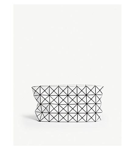 BAO BAO ISSEY MIYAKE Prism clutch bag (White