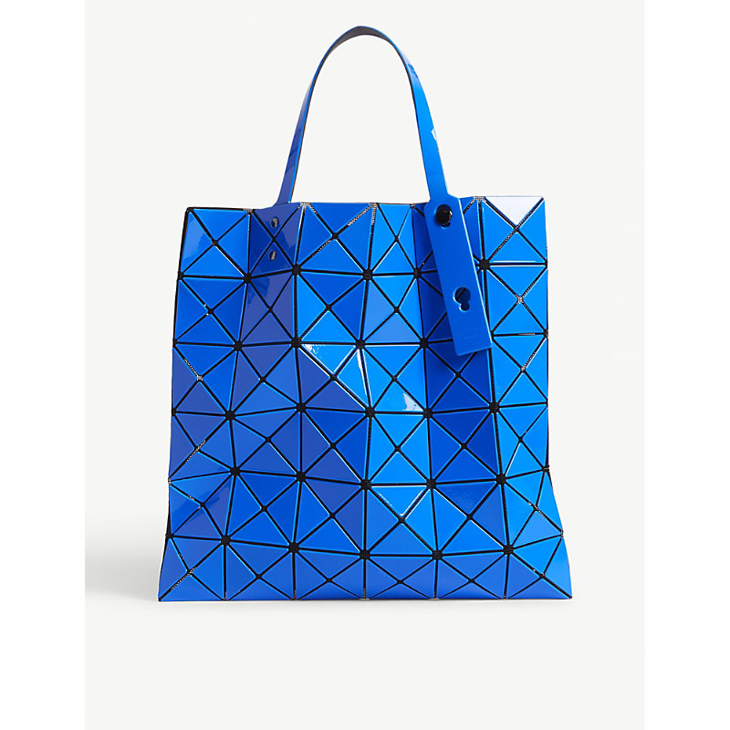Lucent two-tone tote bag