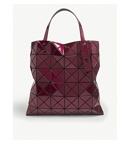 691d7773ddb ... BAO BAO ISSEY MIYAKE Lucent metallic tote (Boredeaux. PreviousNext
