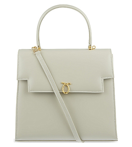 LAUNER Juliet large handbag (Beige