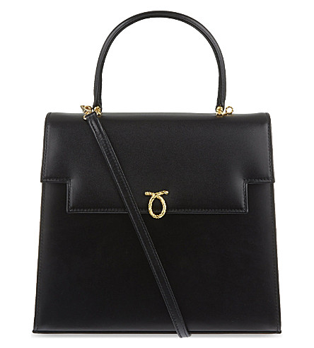 LAUNER Juliet large handbag (Black