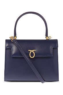 LAUNER Mini Judy leather handbag