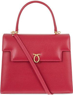 LAUNER Traviata leather handbag