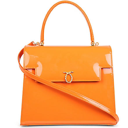 LAUNER Traviata leather handbag (Jaffa