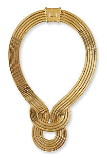 LARA BOHINC Lunar Eclipse gold-plated necklace