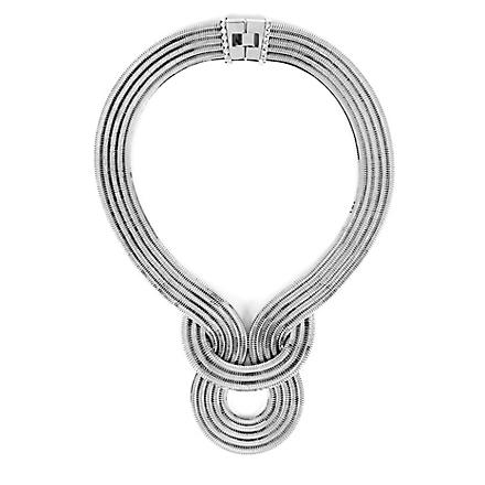 LARA BOHINC Lunar Eclipse necklace (Platinum