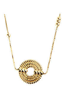 LARA BOHINC Apollo 18ct gold-plated sautoir drop necklace