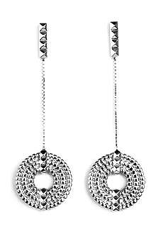 LARA BOHINC Apollo sterling silver drop earrings