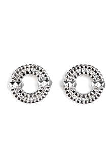 LARA BOHINC Apollo II sterling silver stud earrings