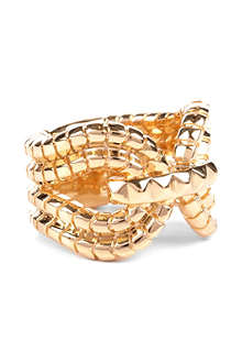 LARA BOHINC Gagarin 18ct gold-plated ring