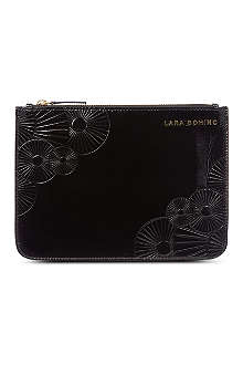 LARA BOHINC Ray Zip clutch