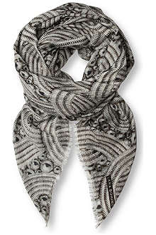 LARA BOHINC Lunar Eclipse modal and cashmere-blend scarf
