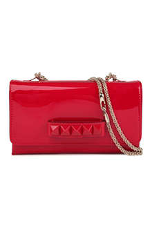 VALENTINO Vavavoom leather clutch