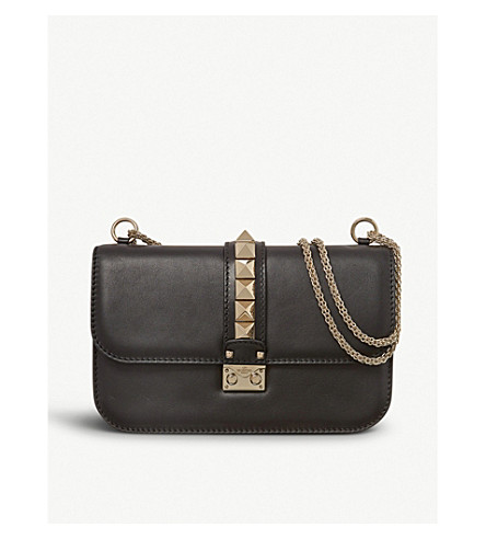 VALENTINO Studded shoulder bag (Black