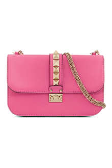 VALENTINO Medium leather shoulder bag