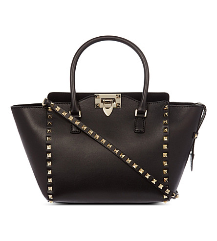 VALENTINO Rockstud shopper (Black