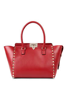 VALENTINO Garavani Rockstud double handle shoudler bag