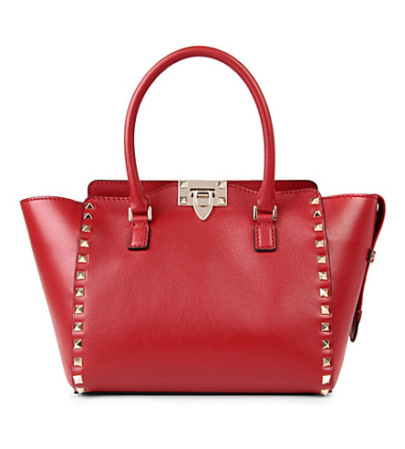 VALENTINO Rockstud shoulder bag (Red