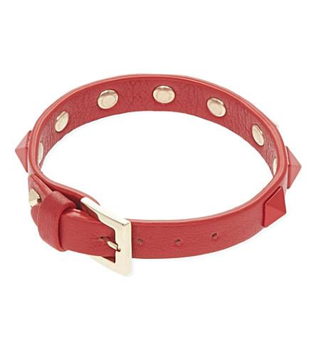 VALENTINO Rockstud bracelet (Red